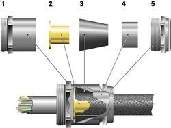 Kabelová průchodka LAPP SKINDICHT® SHVE-M20X1,5/13/11/7 mosaz, délka závitu 6 mm, mosaz, 25 ks