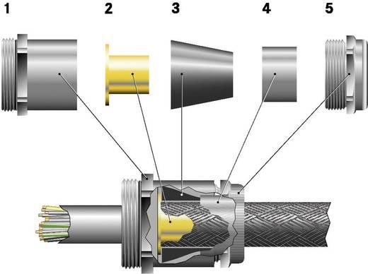 Kabelverschraubung M20 Messing Messing LappKabel SKINDICHT® SHVE-M 20X1,5/16/13/10 25 St.