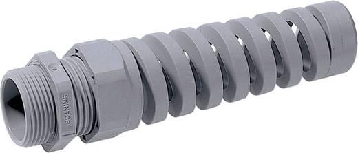 Kabelverschraubung mit Biegeschutzspirale M16 Polyamid Silber-Grau (RAL 7001) LappKabel SKINTOP BS ISO M 16X1,5 RAL 700