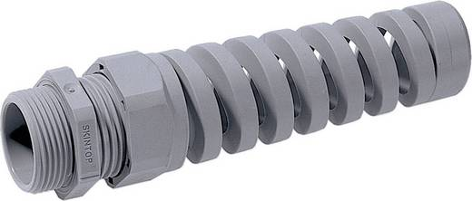Kabelverschraubung mit Biegeschutzspirale M25 Polyamid Silber-Grau (RAL 7001) LappKabel SKINTOP® BS ISO M 25X1,5 25 St.