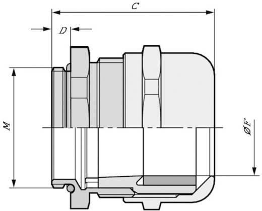 Kabelverschraubung M32 Messing Messing LappKabel SKINTOP® MS-IS-M 32X1,5 25 St.