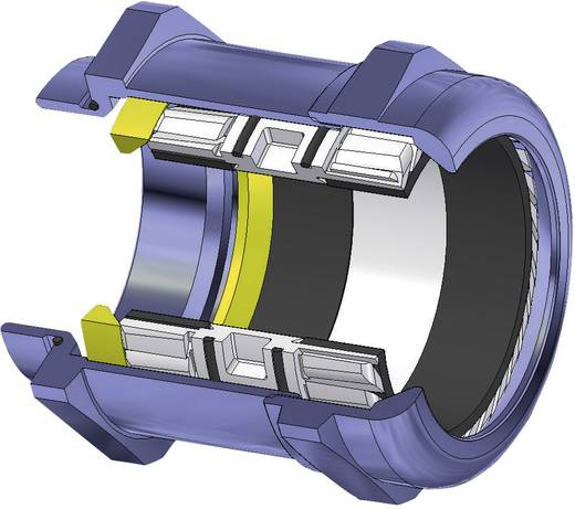 Kabelverschraubung M90 Messing Messing LappKabel SKINTOP® MS-M90X2 1 St.