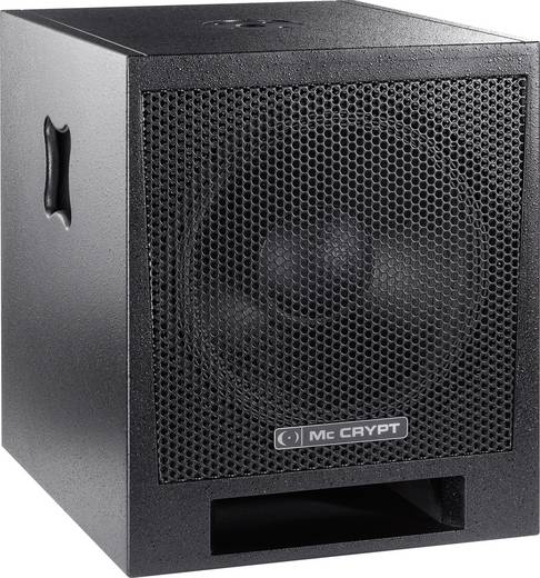 aktiver pa subwoofer 45 cm 18 zoll mc crypt pa c18a 220 w. Black Bedroom Furniture Sets. Home Design Ideas