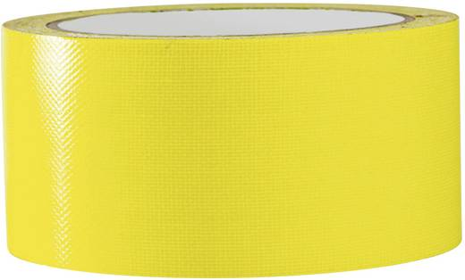 Gewebeklebeband 80FL5025EC Neon-Gelb (L x B) 25 m x 50 mm TOOLCRAFT 80FL5025EC 1 Rolle(n)