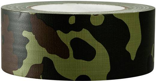 Gewebeklebeband TOOLCRAFT 80B50L25CC Camouflage (L x B) 25 m x 50 mm Hotmeltkleber Inhalt: 1 Rolle(n)
