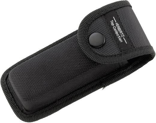 Taschenmesser mit Holster, mit Aufbewahrungsbox Herbertz Alu, Liner Lock 521611 Schwarz