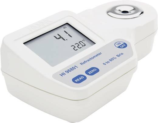 Hanna Instruments HI 96801 Digital-Refraktometer HI 96801 0.1% Brix/0.1 °C ±0.2% Brix/±0.3 °C Kalibriert nach Werksstand