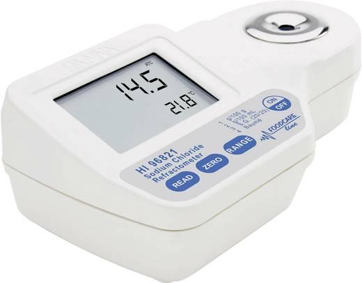 Hanna Instruments HI 96821 Digital-Refraktometer HI 96821 0,1 g/100g; 0,1 g/100 ml; 0,1 °Baumé; 0,001 spez. Dichte; 0,1 °C ±0,2 g/100g; ±0,2 g/100 ml; ±0,2 °Baumé; ±0,002 spez. Dichte; ±0,3 °C Kalibriert nach Werksstandard