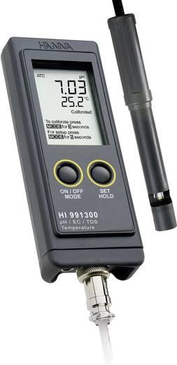 Hanna Instruments HI 991300 Wasseranalyse-Messgerät HI 991300 0.5 ºC 0 - 3999 µS/cm 0 - 14 pH 0 bis 60 °C Kalibriert nach Werksstandard