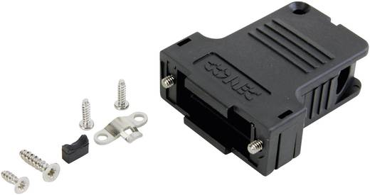 D-SUB Gehäuse Polzahl: 9 Kunststoff 45 ° Schwarz Conec 165X14559XE 1 St.