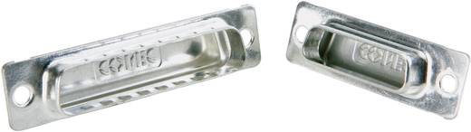 D-SUB Abschirmkappe Conec 165X13169X Silber 1 St.