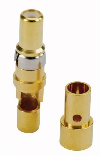 Koaxial-Buchsenkontakt Gold auf Nickel Conec 132J20049X 1 St.