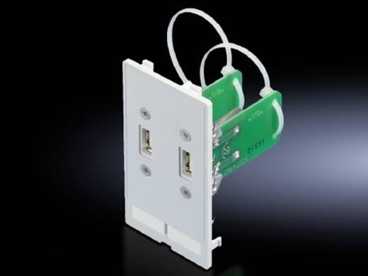 Schnittstellenklappe USB-A Druckguss Graphitgrau (RAL 7024) Rittal SZ 2482.540 1 St.