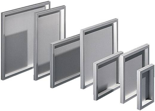 Tisch-Gehäuse, Pult-Gehäuse 377 x 377 x 34 Aluminium Aluminium (Natur) Rittal FT 2742.000 1 St.