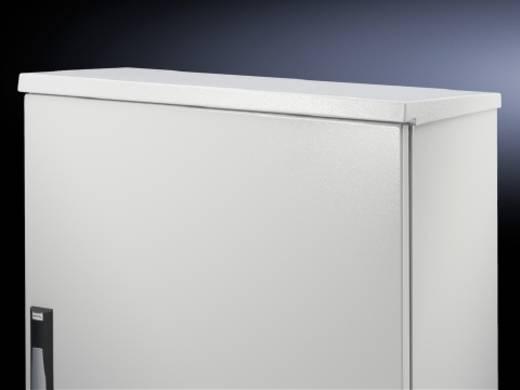 Regenhaube (L x B) 600 mm x 400 mm Stahlblech Licht-Grau (RAL 7035) Rittal CM 5001.310 1 St.