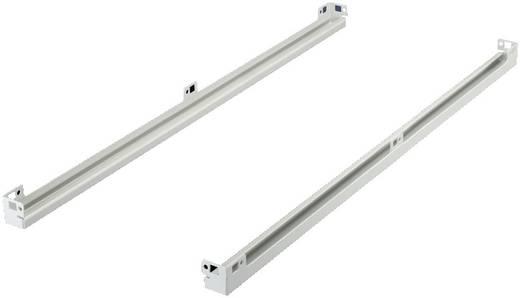 Bodenaufnahme Stahlblech Licht-Grau (RAL 7035) Rittal DK 5501.310 2 St.