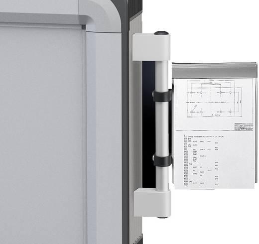 Dokumentenhalter Stahlblech Grau (RAL 7035) (B x H) 225 mm x 315 mm Rittal CP 6013.000 1 St.