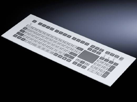 Einbautastatur mit Touchpad (B x H) 482.6 mm x 177 mm Rittal SM 6446.030 1 St.
