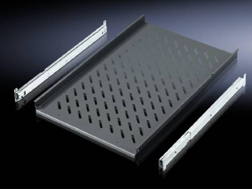 Bodenblech ausziehbar (L x B) 545 mm x 465 mm Stahlblech Schiefer-Grau Rittal IW 6902.960 1 St.