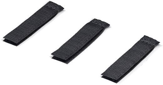 Klett-Kabelmanager zum Aufkleben Haft- und Flauschteil (L x B) 70 mm x 16 mm Schwarz Rittal 7111.350 10 St.