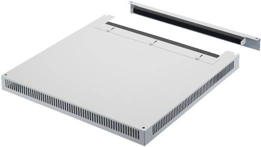 Dachblech mit Kabeleinführung (L x B) 800 mm x 800 mm Stahlblech Licht-Grau (RAL 7035) Rittal DK 7826.889 1 St.