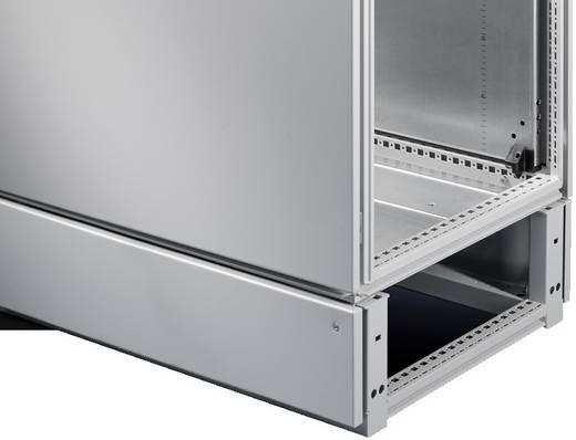 Kabelrangierraum (L x B x H) 500 x 600 x 200 mm Stahlblech Licht-Grau (RAL 7035) Rittal TS 8600.655 1 St.