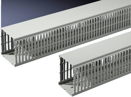 Kabelkanal PVC Stein-Grau (L x B x H) 2000 x 100 x 80 mm Rittal TS 8800.754 12 St.