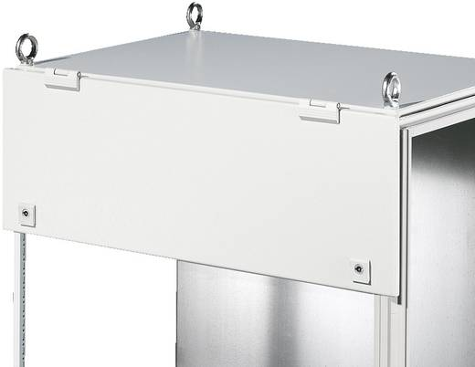 Dachblech mit Scharnier (B x H) 1200 mm x 300 mm Stahlblech Licht-Grau (RAL 7035) Rittal TS 8801.250 1 St.