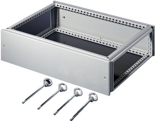 Aufsatzmodul (L x B) 600 mm x 1200 mm Stahlblech Licht-Grau (RAL 7035) Rittal TS 8801.765 1 St.