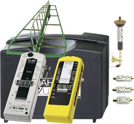 GIGAHERTZ SOLUTIONS MK70-3D Elektrosmog-Messkoffer-Set PROFI: High-End-Ausrüstung für baubiologische Messtechniker