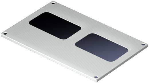 Dachblech mit Kabeleinführung (L x B) 400 mm x 600 mm Stahlblech Licht-Grau (RAL 7035) Rittal SV 9665.943 1 St.