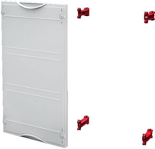 Berührungsschutz-Modul Kunststoff Grau (RAL 7035) (B x H) 250 mm x 450 mm Rittal SV 9666.020 1 St.