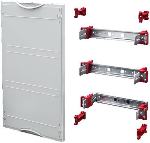 Geräteschienen-Modul Stahlblech Grau (RAL 7035) (B x H) 500 mm x 450 mm Rittal SV 9666.220 1 St.