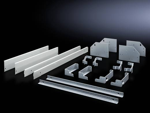 Einbausatz Stahlblech Grau (RAL 7035) (L x B x H) 210 x 380 x 600 mm Rittal SV 9666.800 1 St.