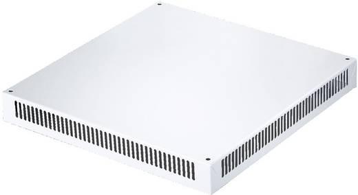 Dachblech belüftet (L x B x H) 600 x 400 x 72 mm Stahlblech Licht-Grau (RAL 7035) Rittal SV 9671.846 1 St.