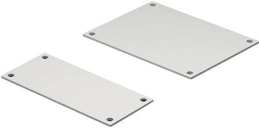 Flanschplatte PVC Grau Rittal SV 9673.195 10 St.