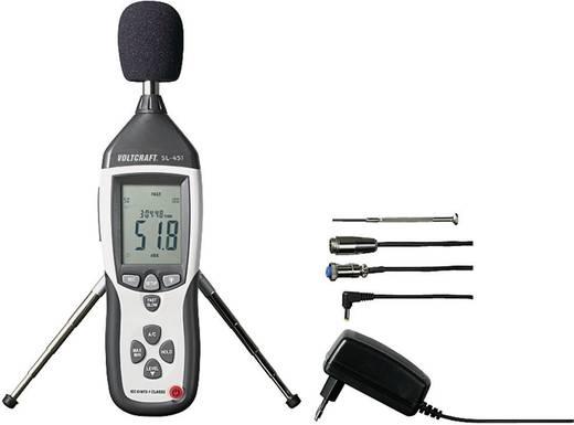 VOLTCRAFT Schallpegel-Messgerät SL-451 30 - 130 dB 31.5 - 8 kHz Kalibriert nach Werksstandard (ohne Zertifikat)