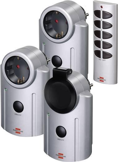 Funk-Steckdosen-Set 4teilig Außenbereich 3600 W Brennenstuhl Primera-Line RC-2044 1507670