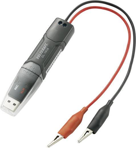 Spannungs-Datenlogger VOLTCRAFT DL-191V Messgröße Spannung 0 bis 30 V/DC Kalibriert nach Werksstandard (ohne Zer