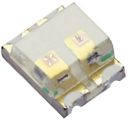 SMD-LED mehrfarbig 0605 Blau, Orange 80 mcd, 150 mcd 120 ° 20 mA 3.3 V, 2.1 V Kingbright KPTB-1612QBDSEKC