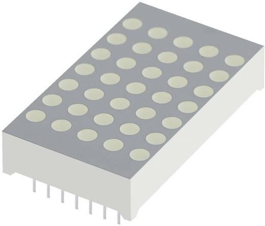 Punkt-Matrix-Anzeige Rot 30 mm 1.85 V Kingbright TA12-11SURKWA