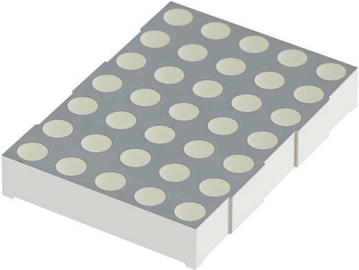 Punkt-Matrix-Anzeige Gelb 50 mm 1.95 V Kingbright TA20-11SYKWA