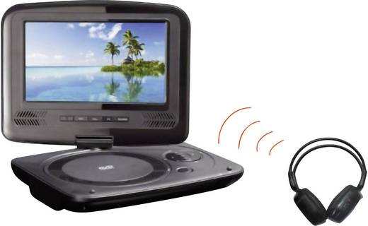 soundmaster pdb1950 tragbarer dvd player cm 9 zoll. Black Bedroom Furniture Sets. Home Design Ideas