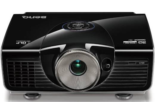 DLP Beamer BenQ W7500 Helligkeit: 2000 lm 1920 x 1080 HDTV 60000 : 1 Schwarz