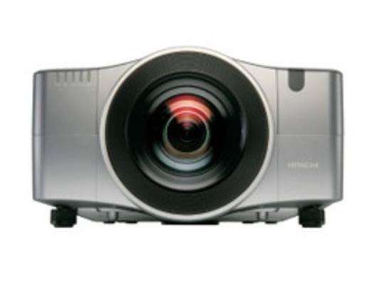 LCD Beamer Hitachi CP-X10000 Helligkeit: 7500 lm 1024 x 768 XGA 2500 : 1 Silber