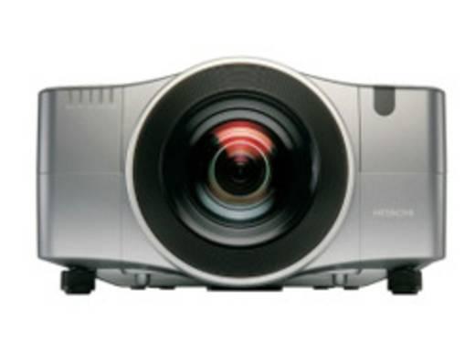 LCD Beamer Hitachi CP-WX11000 Helligkeit: 6500 lm 1366 x 800 WXGA 2500 : 1 Silber