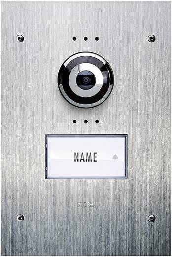 Video-Türsprechanlage Kabelgebunden Außeneinheit m-e modern-electronics VDV 910 1 Familienhaus Edelstahl