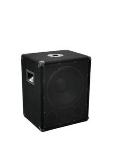 Passiver PA Subwoofer 30 cm 12 Zoll Omnitronic BX-1250 600w 300 W 1 St.