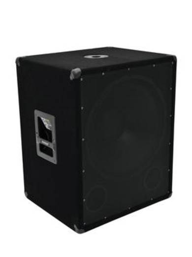 Passiver PA Subwoofer 45 cm 18 Zoll Omnitronic BX-1850 1200w 600 W 1 St.