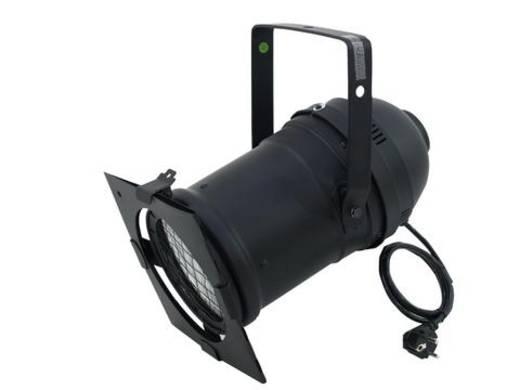 Halogen-PAR-Scheinwerfer Eurolite PAR-56 CDM150 schwarz Schwarz